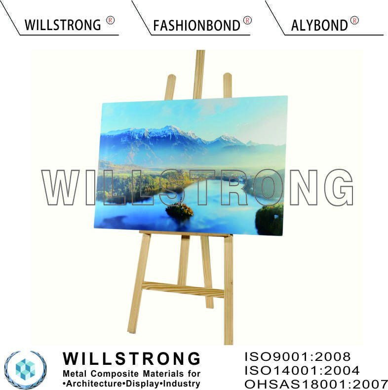 Aluminum Composite Panel for UV Digital Printing Advertising Art pictures & photos