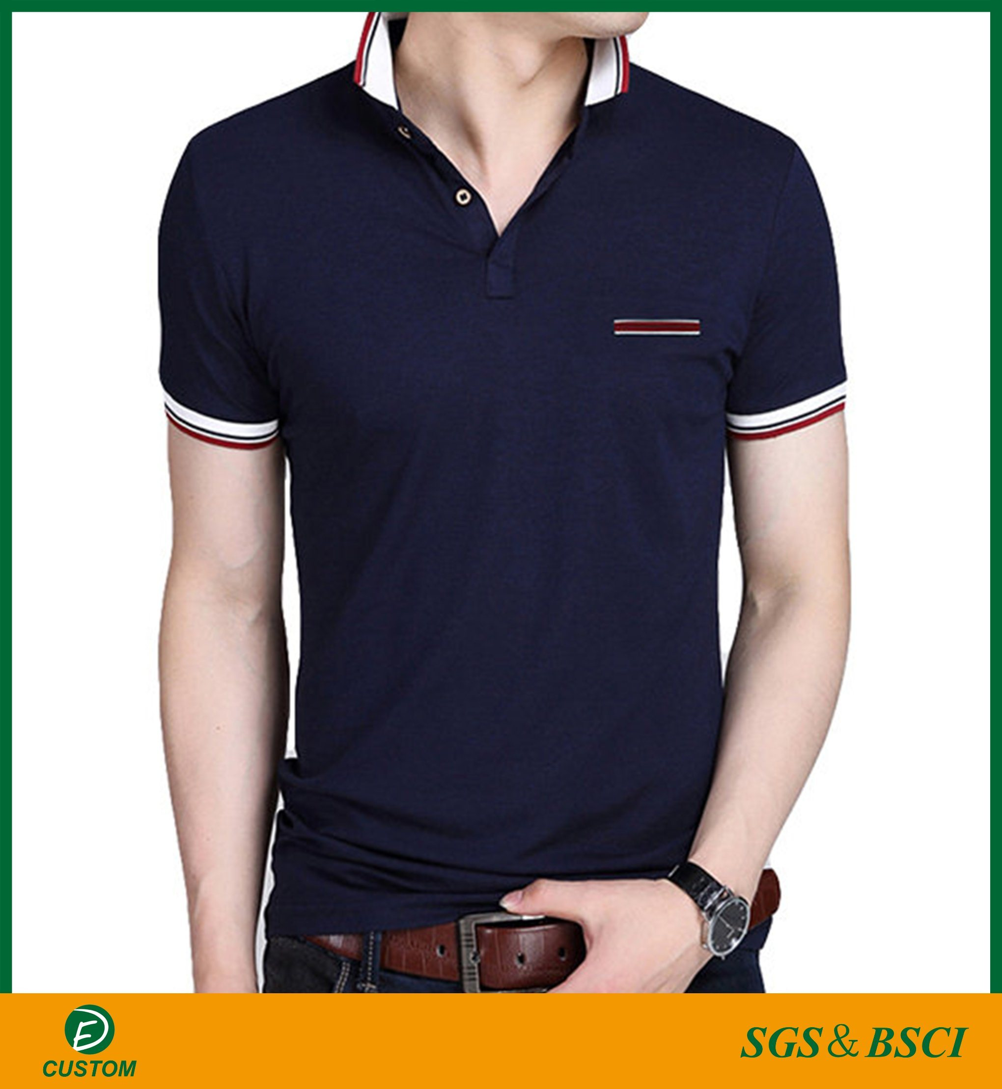 b1df82709d35 China Guangzhou Factory Best Quality Men′s Polo Shirts with Cheap Price -  China Polo Shirts