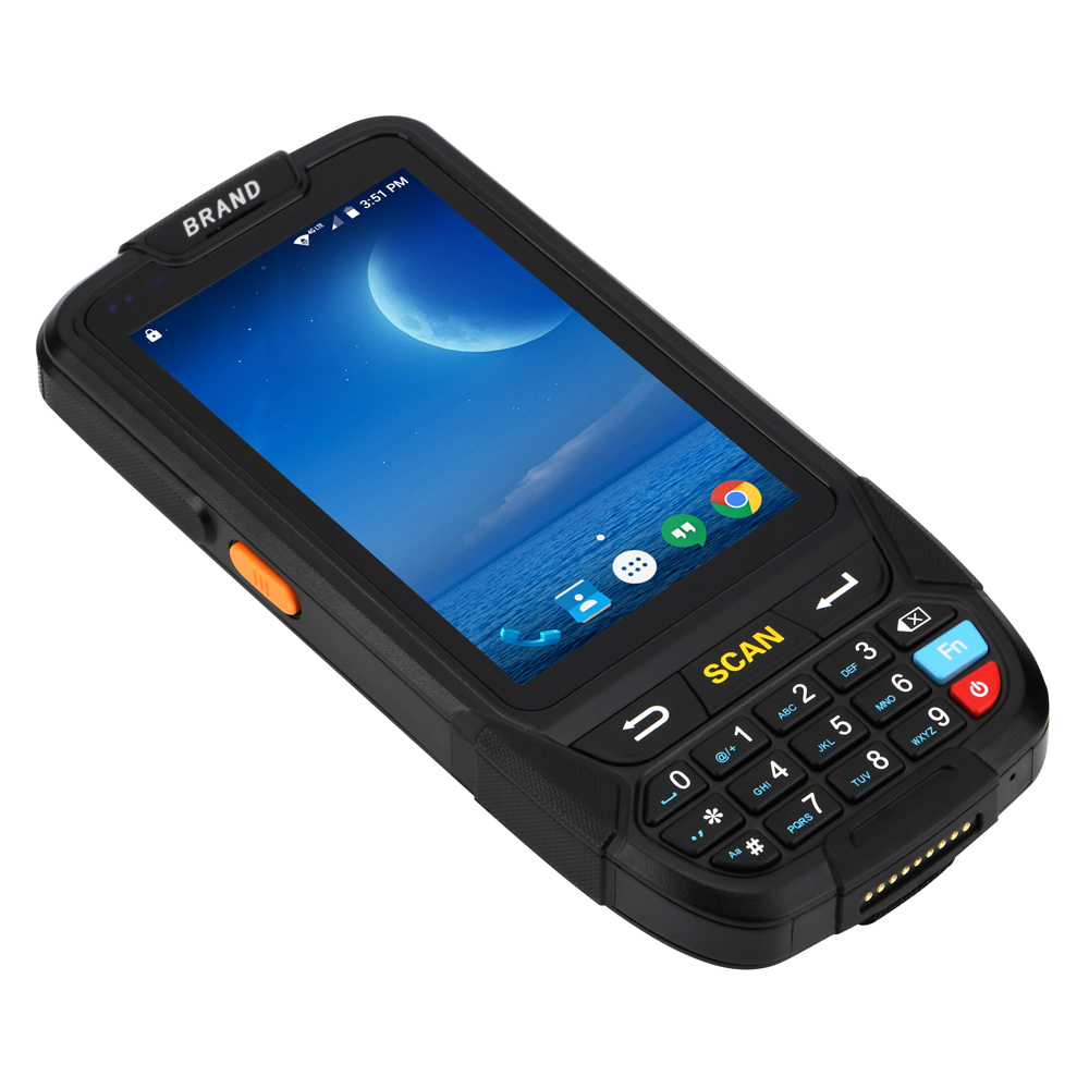 [Hot Item] Android PDA RFID Reader with Handheld Qr Code Scanner