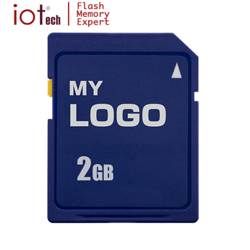 China High Speed Real Full Capacity Cheap Price Bulk 2GB OEM Logo SD Memory Card Made In Taiwan