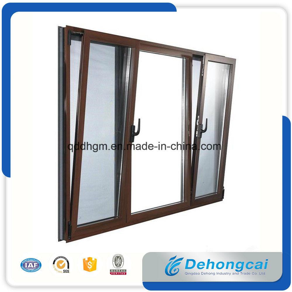 China Heat Insulation Bridge Cut Off Aluminum Window With Hollow
