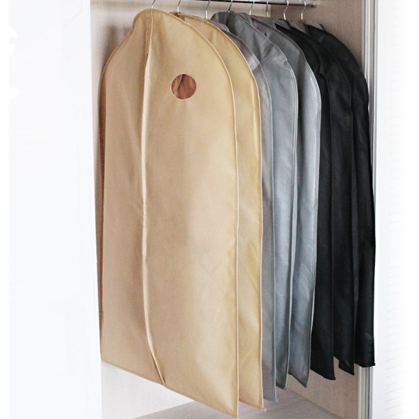 China Non Woven Suit Cover Garment Bag Wedding Dress Cover China