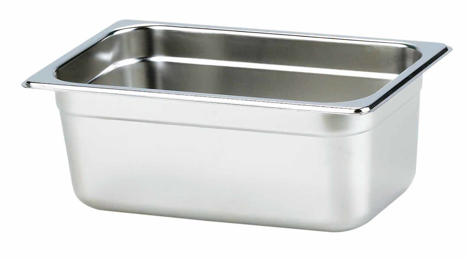 Stainless Steel Gastronorm Pan 1/4, 100 (YG14-4CT)