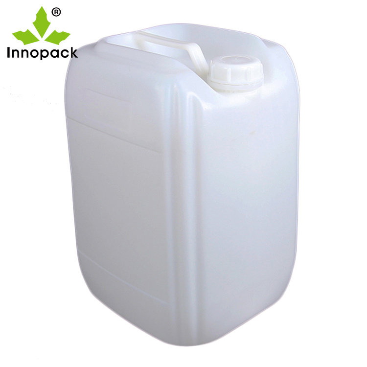 China 5L 10L 20L 25L 30L White Blue Clear Plastic Jerry Can, Chemical  Liquid Container - China Jerry Can, Plastic Jerry Can