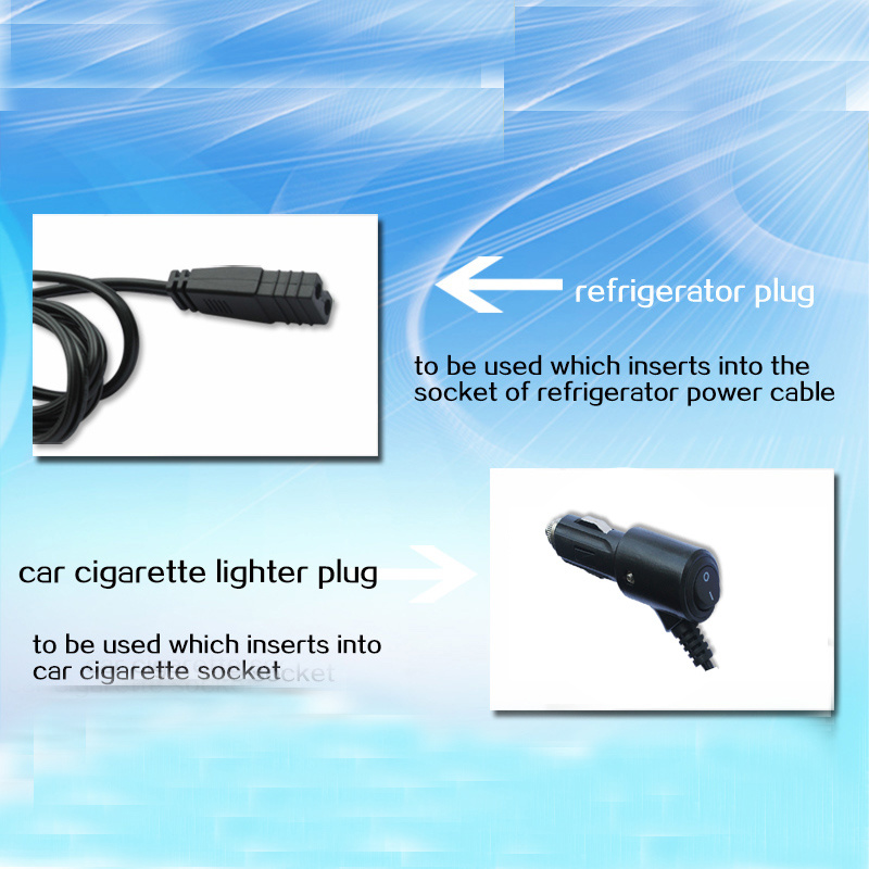 China 12V/24V Car Cigarette Plug with DC Cable and on/off Switch ...