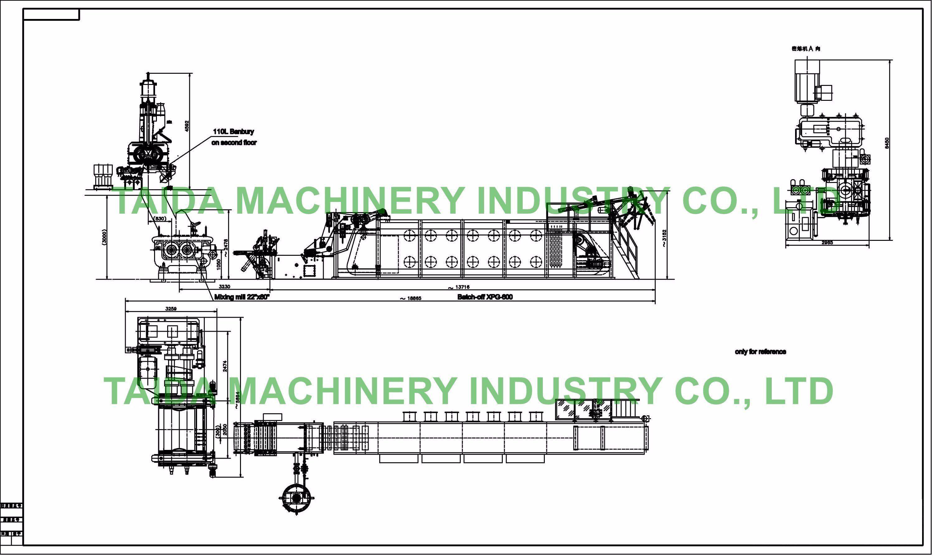 [Hot Item] 35-110L Internal Banbury Mixer Rubber Compound Mixing Processing on