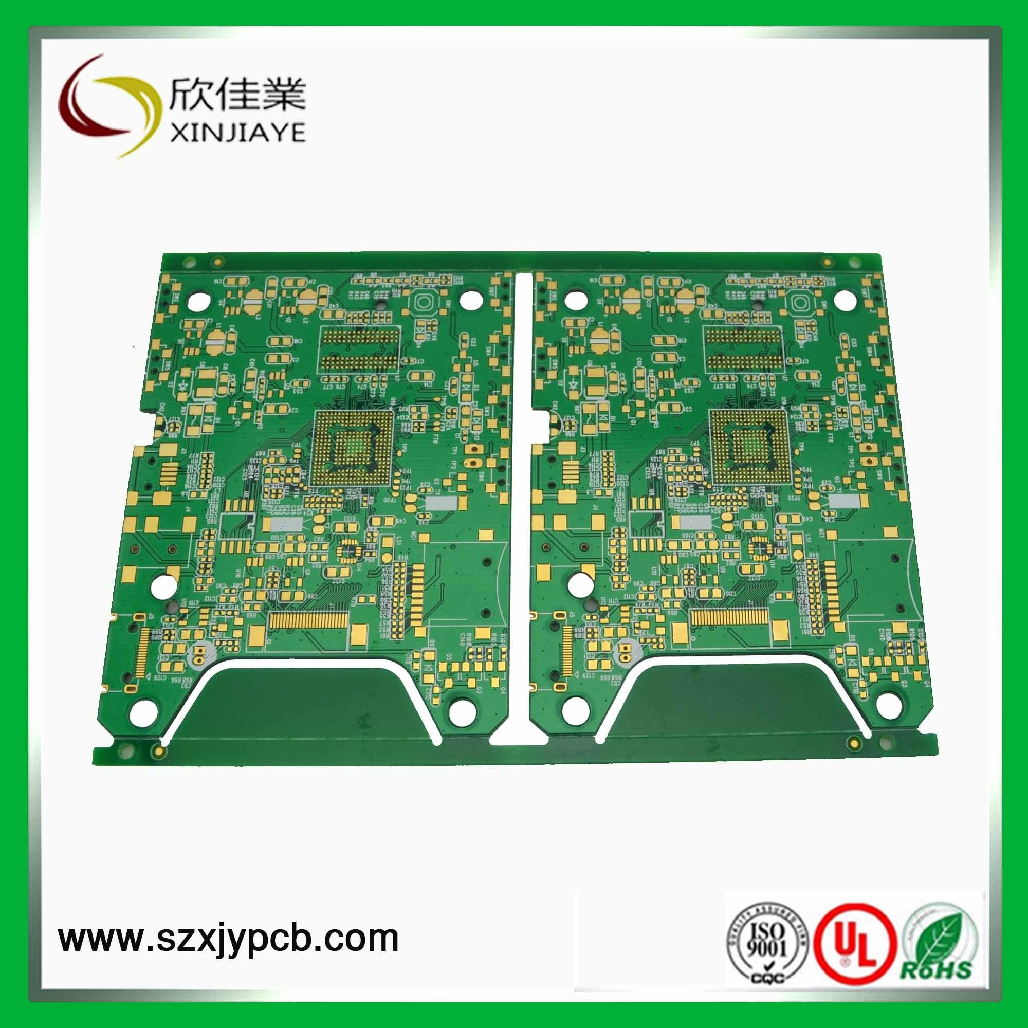 China 4 Layer Printed Circuit Board And Pcb Manufacturer Rigid Flex Boards Oem Hasl 1 Oz Copper