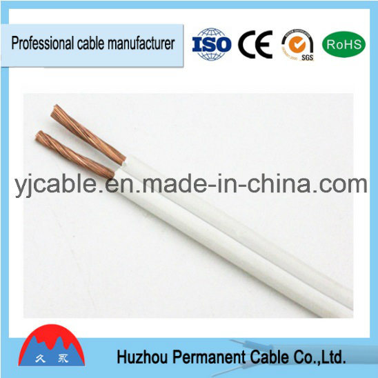 China 1.5mm2 Transparent Speaker Cable, Red and Black Parallel ...