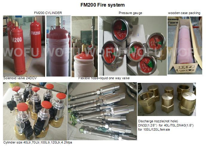 FM200 Fire Suppression System pictures & photos