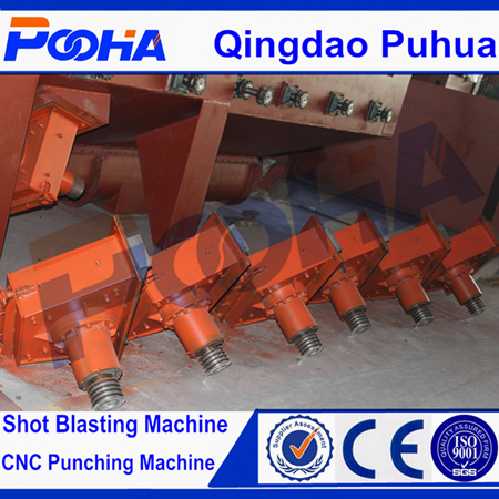 Ce Quality Q69 H Beam Steel Shot Blasting Machine pictures & photos