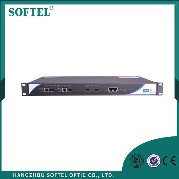 [Hot Item] Efficient Gpon Olt 2 Port SFP with CATV Gepon Olt