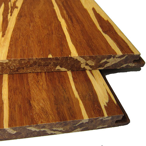 Uniclic Tiger Strand Woven Solid Bamboo Flooring