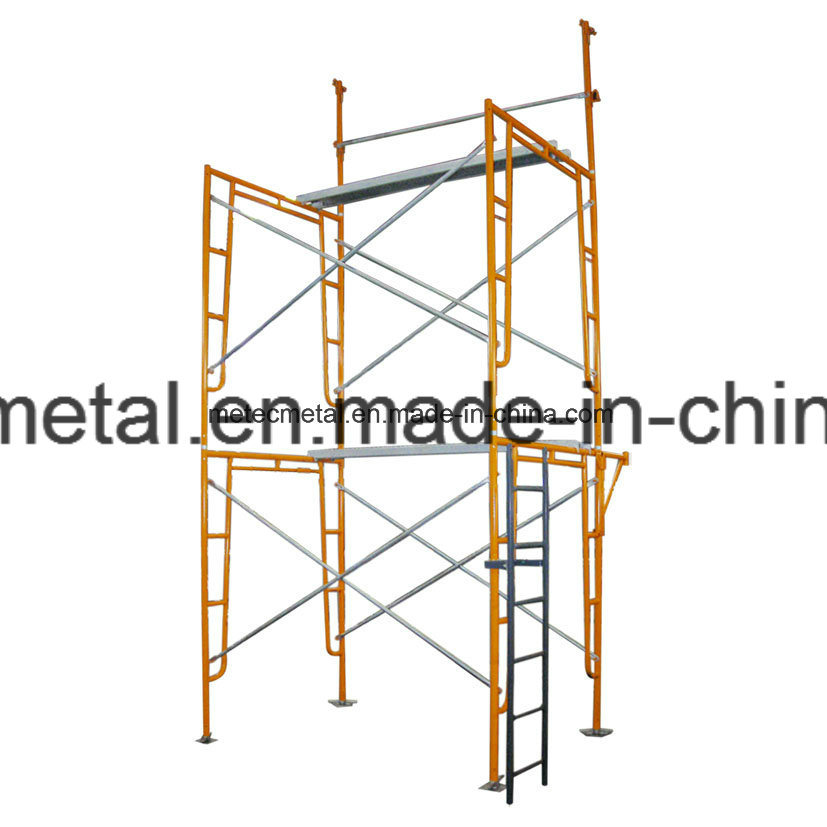 China Gate Frame Scaffolding for Masonry Construction/for Building ...