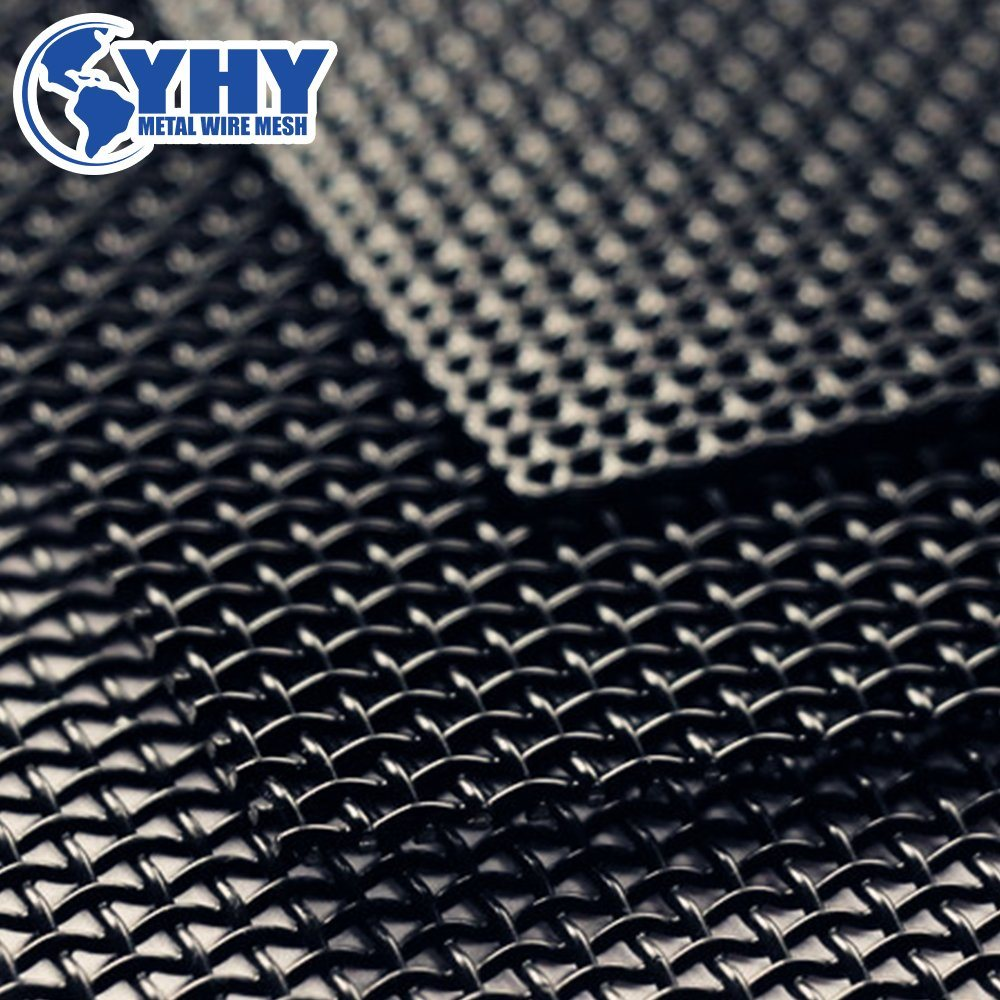 China 12 Mesh Black Anti Theft Security Stainless Steel