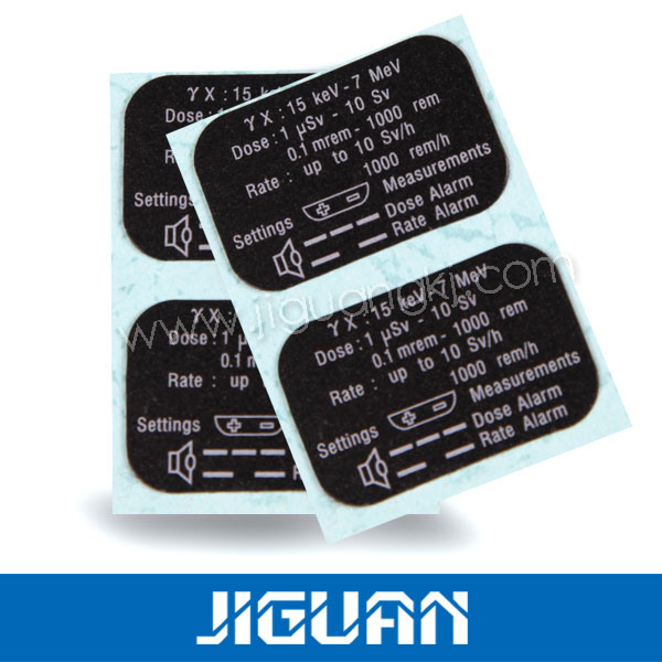 Electronic Product Color Insert Plastic Paper Printed Card
