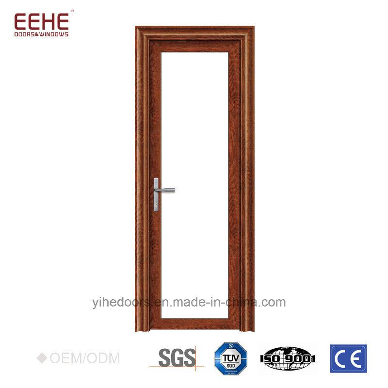 China Sound Insulation Aluminum Glass Doors Powder Coated Aluminium ...