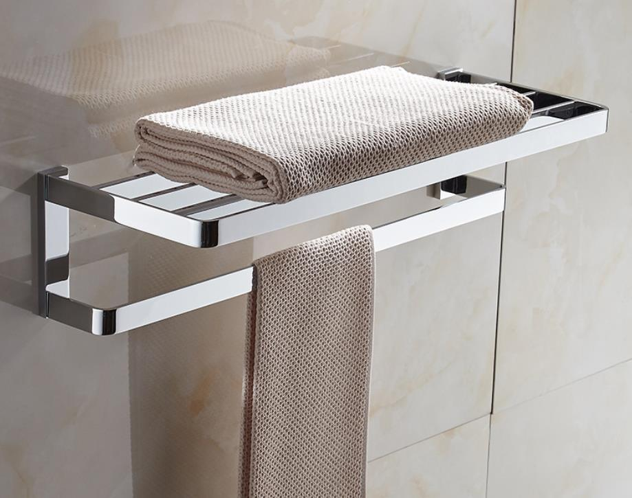 Brass Bathroom Accessories Towel Rack, Bathroom Accessories Towel Racks