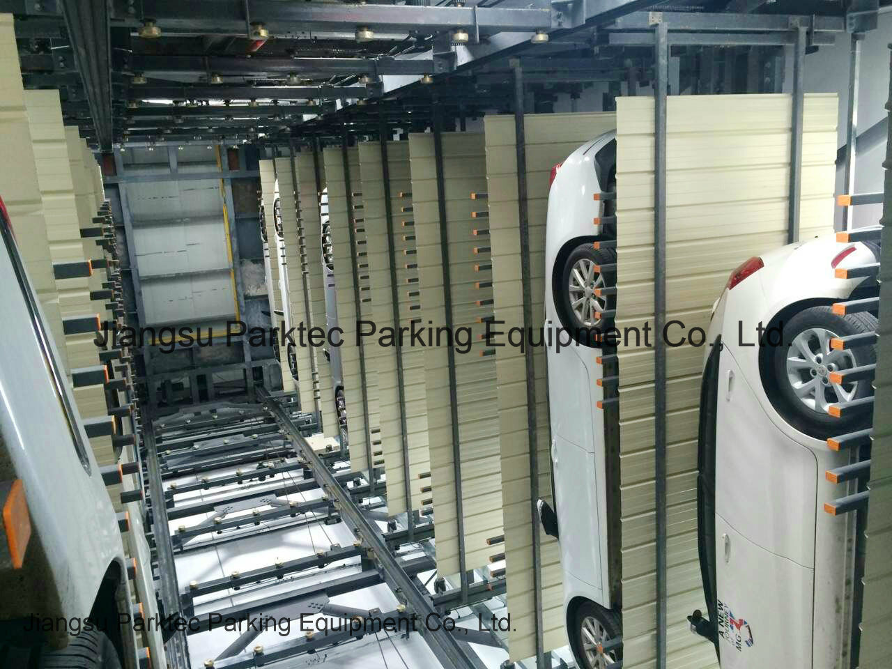 Automatic Vertical Lifting Parking Tower
