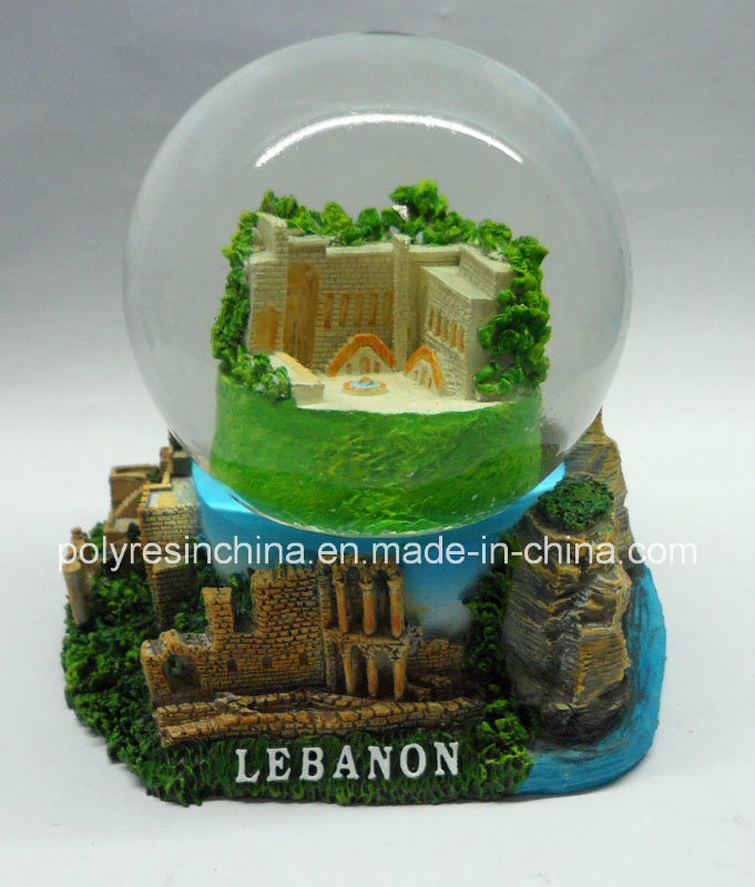 Middle East Souvenir Gifts of Polyresin Snow Globe