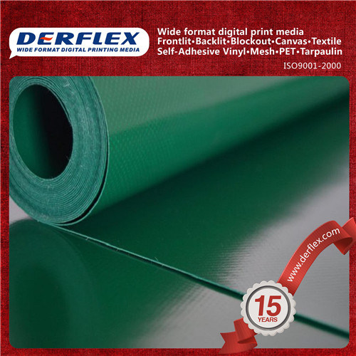PVC Coated Polyester Fabric / Duct Fabric for Mining