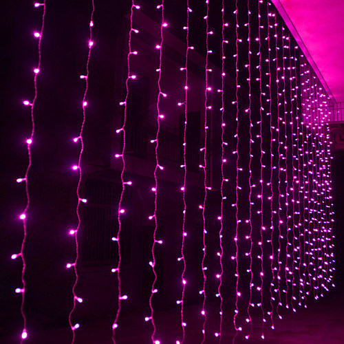 led curtain lights christmas outdoor lights for holiday home decoration