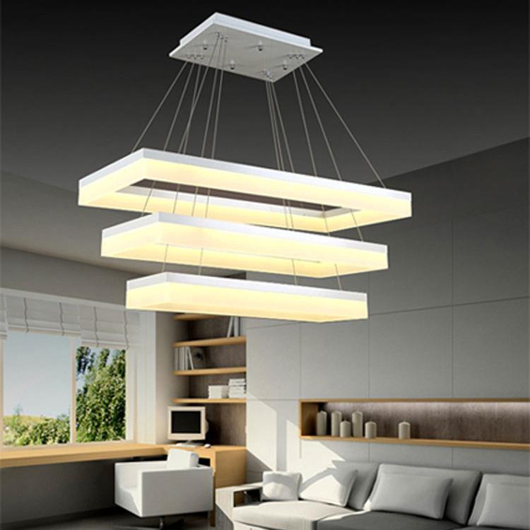 China Rectangular Chandelier Lighting Modern Chandelier For Living Room China Chandelier Pendant Lighting