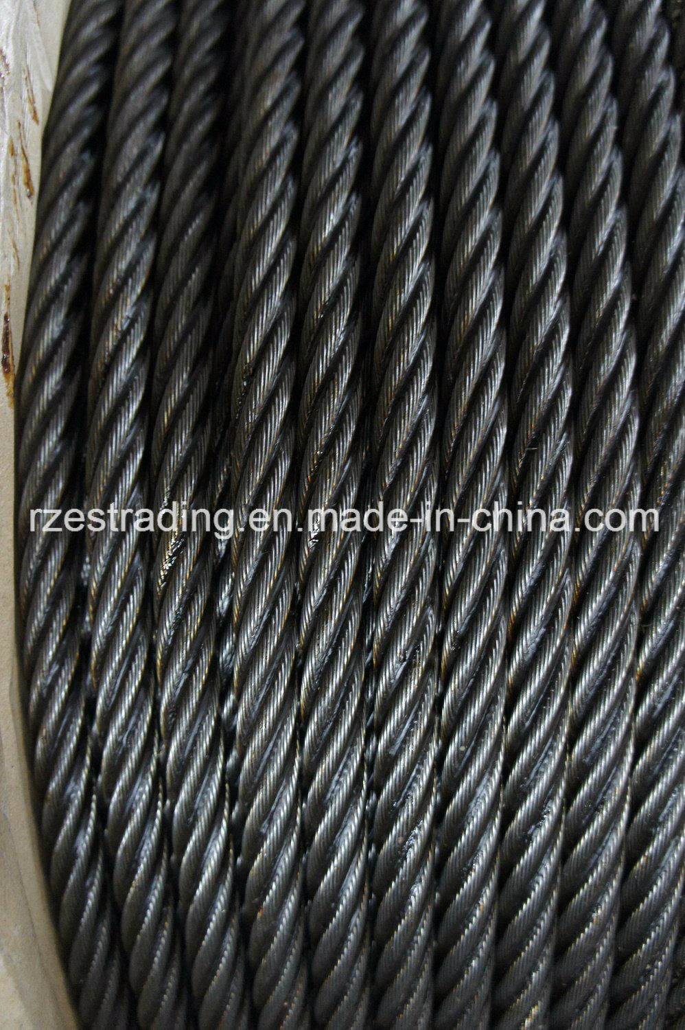 China 6*36ws+FC Ungalvanized Steel Wire Rope for Mining - China Wire ...