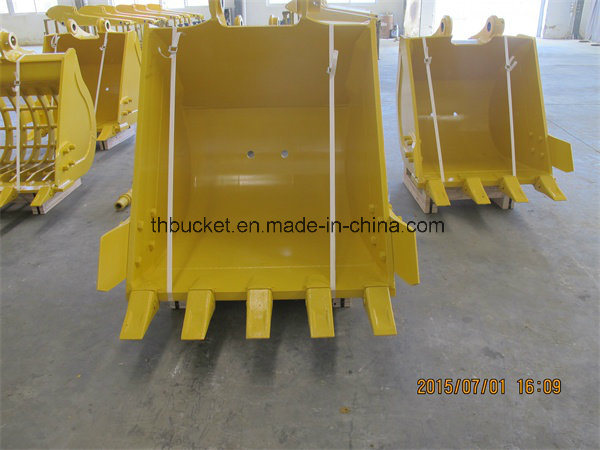 Cat320d Excavator Rock Bucket with Teeth pictures & photos
