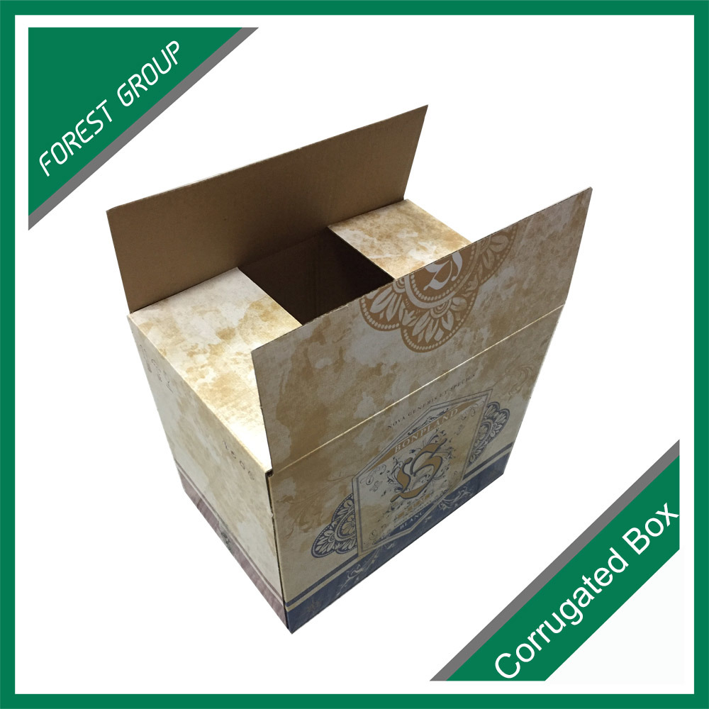 Glossy Finished Corrugated Shipping Carton Box pictures & photos