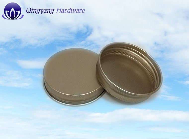 Metal Aluminum Caps for White Glass Jar and Plastic Bottle pictures & photos