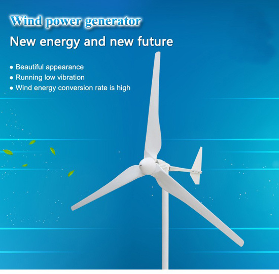 China 100w To 5kw Horizontal Wind Generator Alternative