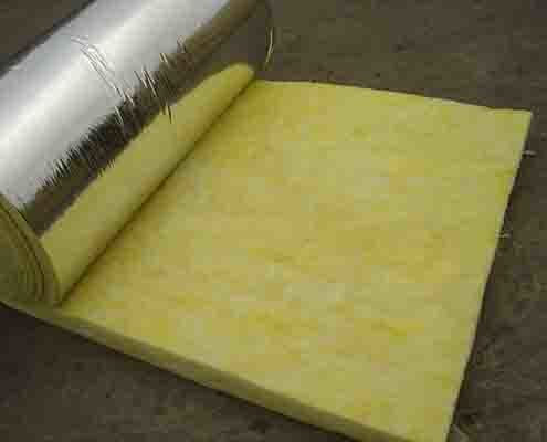 Insulation Material for Wall Glass Wool Blanket
