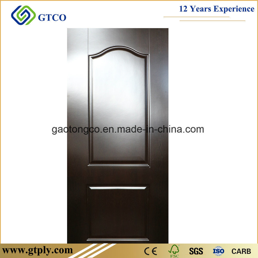 China 3mm Melamine Wendge Hdf Moulded Skin For Interior Doors Photos