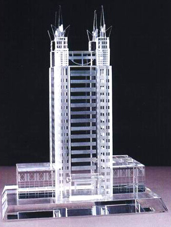Real Estate Business Gift and Table Show Crystal Building Handicrafts