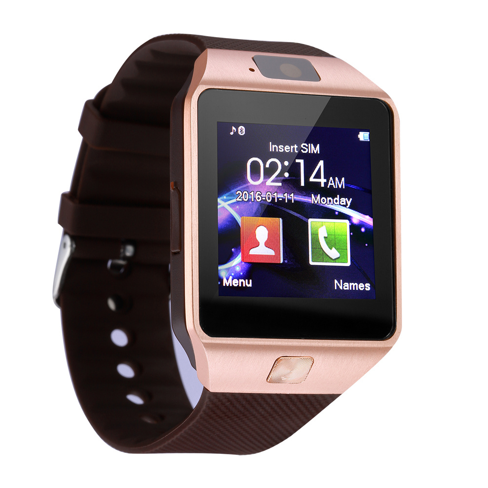 China Wholesale Dz09 Unisex Smart Watch Android Sim Card Mobile