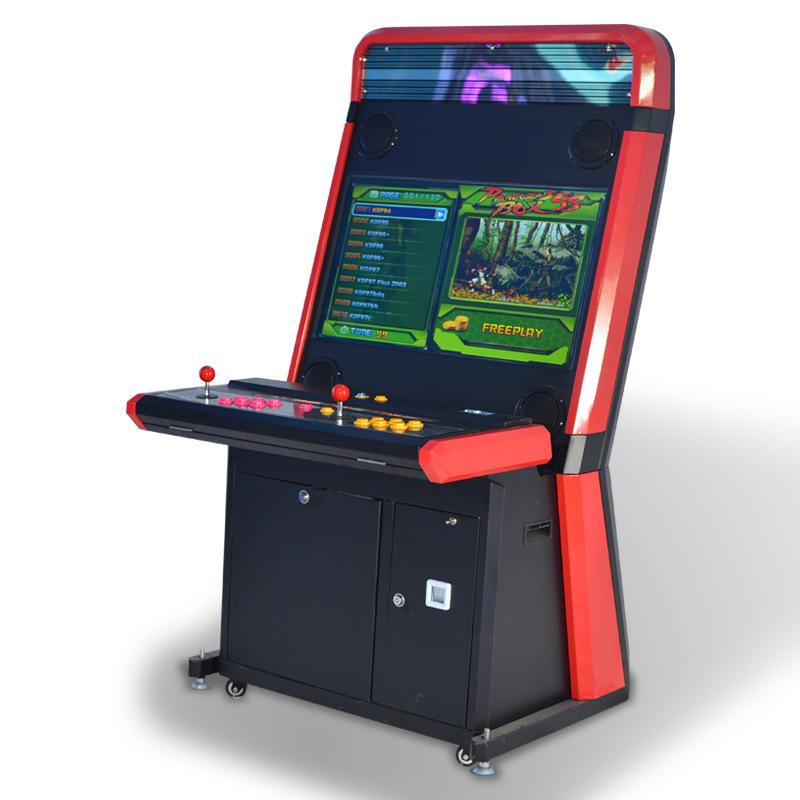 China Ifun 32 Arcade Cabinet Fighting Video Game Machine 600 In 1