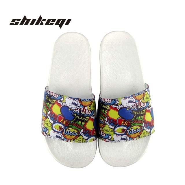 f2c01cb74004c China Shikeqi Shopping Online New Style Blank Slide Footwear Men Sandal