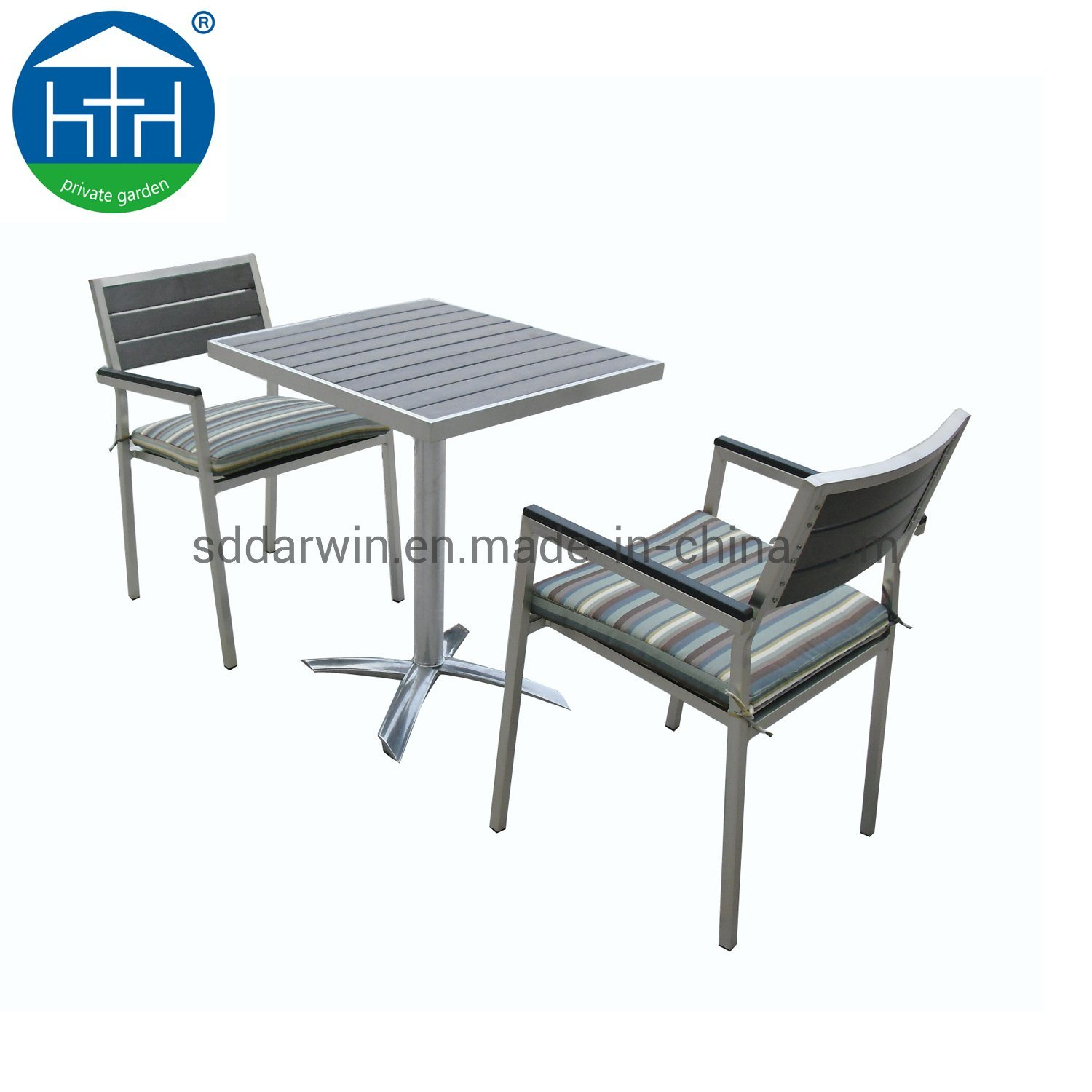 European Style Aluminum Polywood Chair