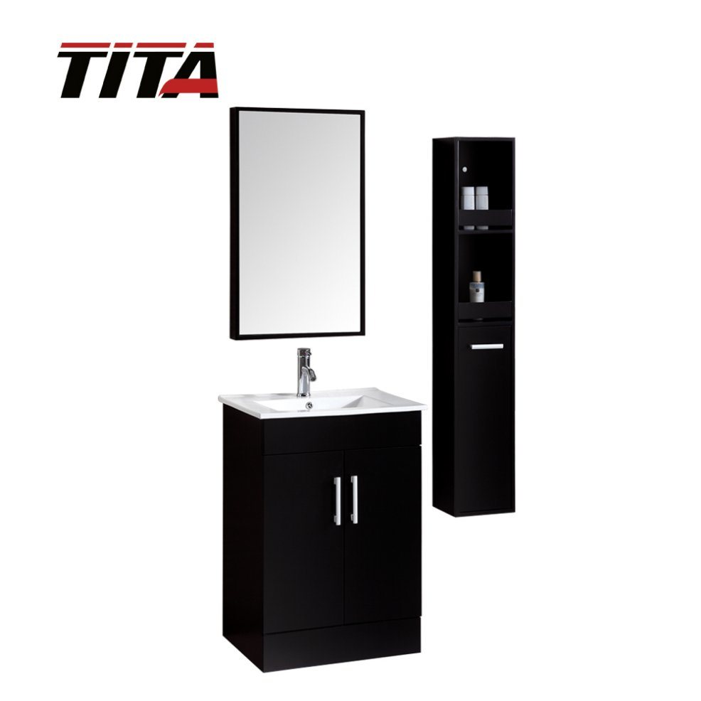 China Solid Wood Bathroom Vanity