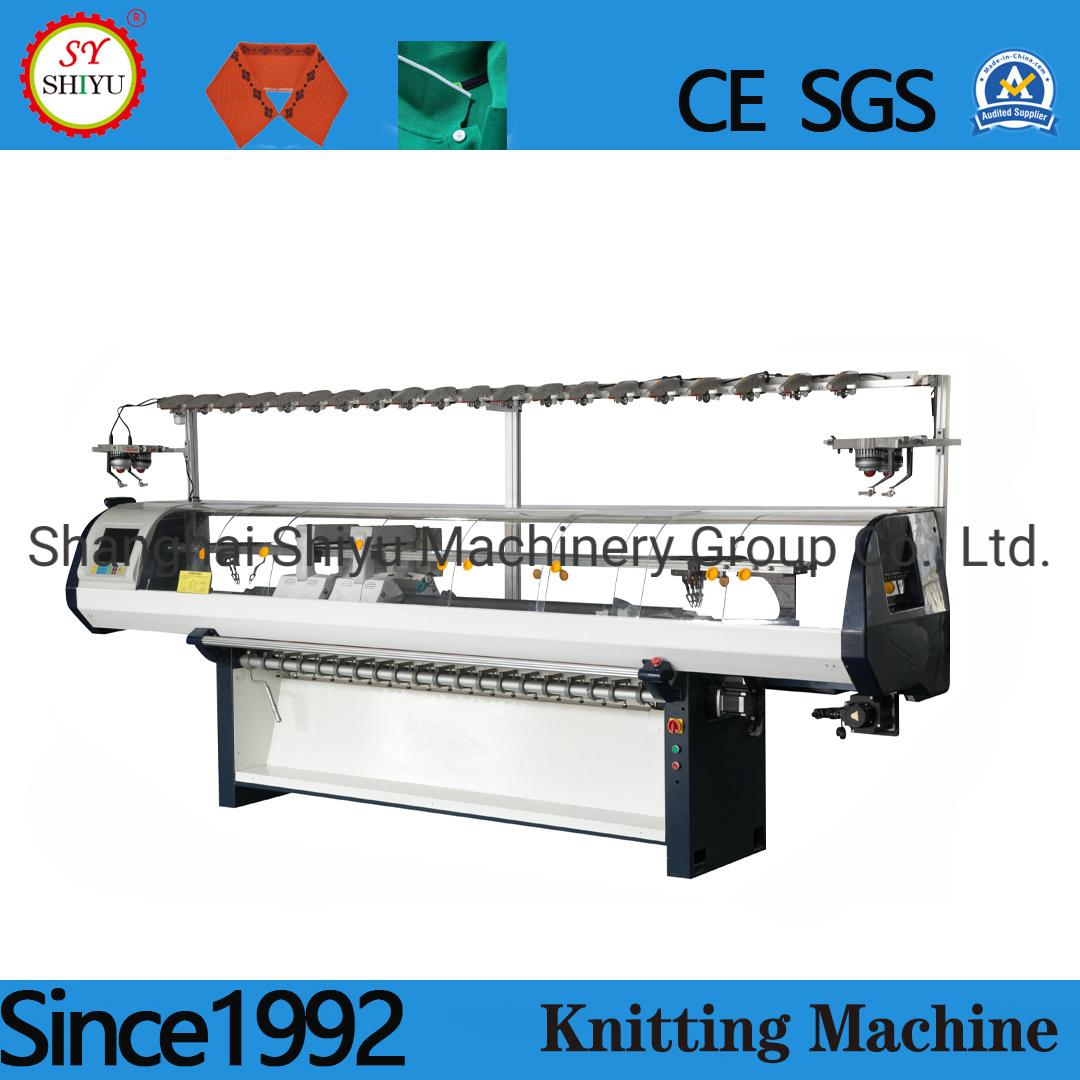 Factory Price Flat Bed Sweater Knitting Machine for Home Use Collar and Cuff Knitting Machine Stoll Flat Knitting Machine