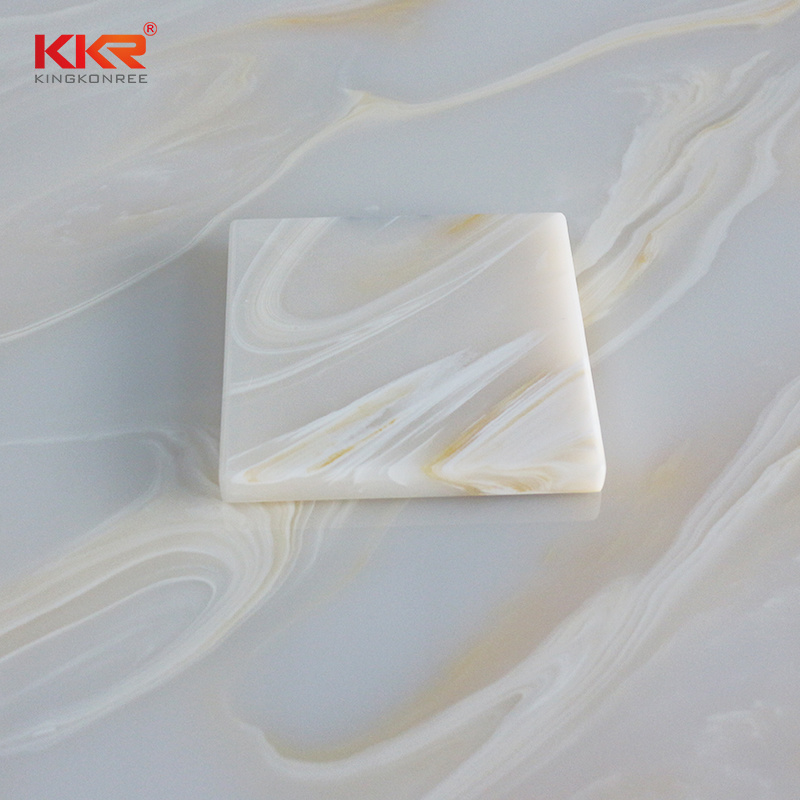 China Artificial Stone Acrylic Faux Onyx Translucent Shower Wall Panel China Solid Surface Sheets Corian Sheets