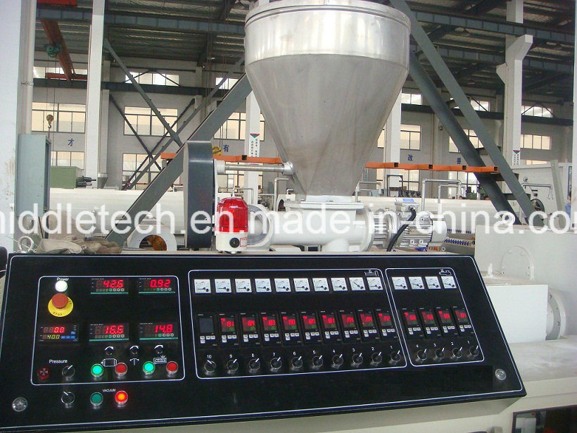 WPC/PVC Pelletizer/Granulation Line Sjz80/156 pictures & photos