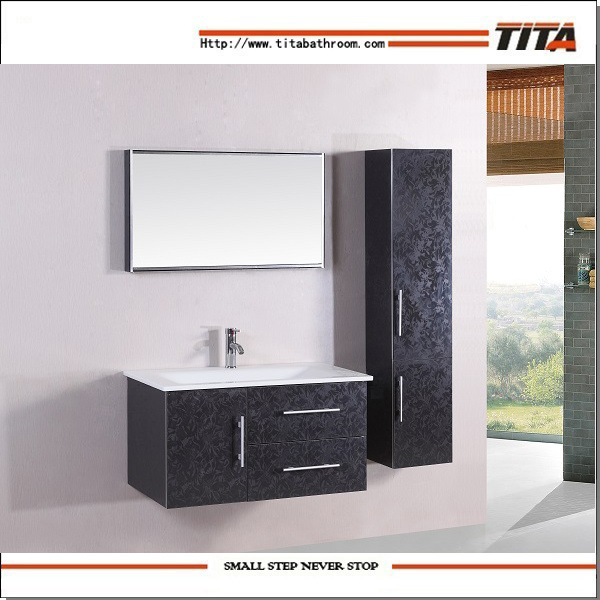 Hot Item Bathroom Vanity Units Modern Cabinets Wall Mount Cabinet Th20170