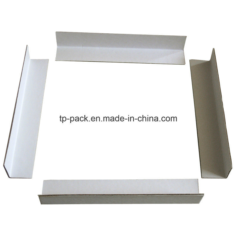 White Cardboard Carton Edge Protector pictures & photos