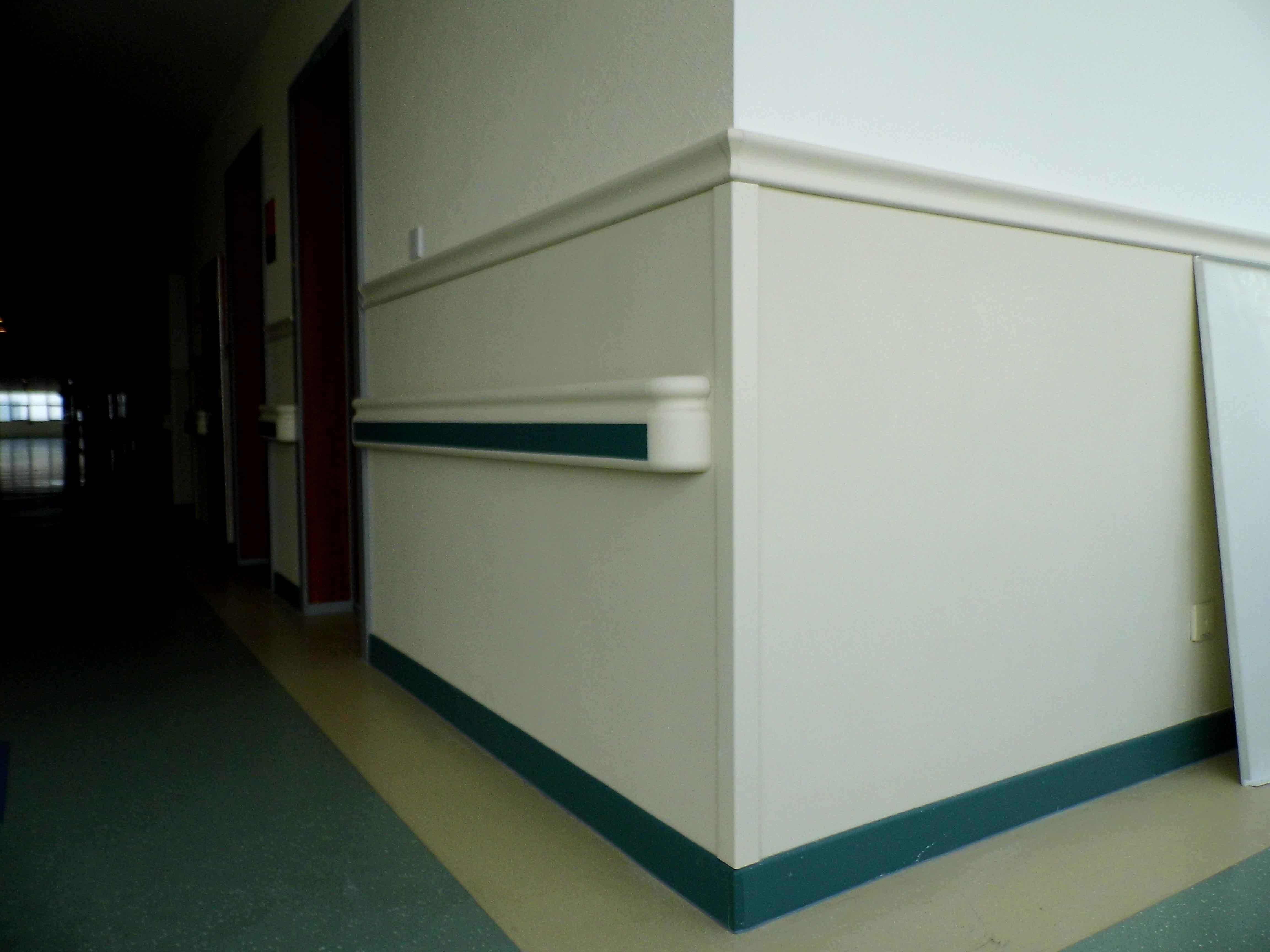 China Hospital Wall Guards Corridor Wall Protection