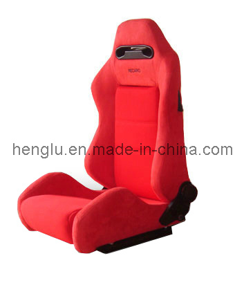 Suede Racing Car Seat