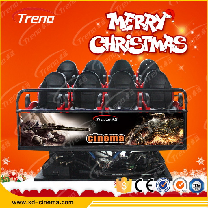 Zhuoyuan Wholesale Commercial 5D 7D Cinema Theater Equipment for Sale