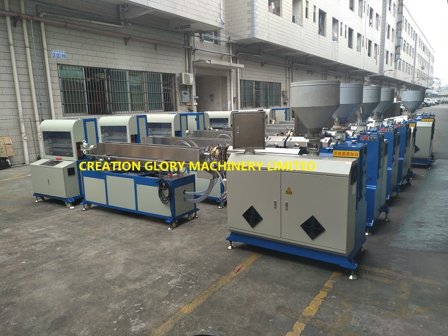 High Precision Plastic Extruding Machinery for Producing Teflon Tubing