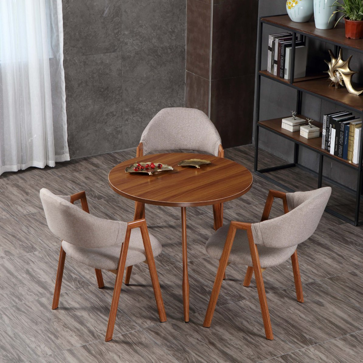 9 New Design Dining Room Furniture Made in China Morden Dining ...