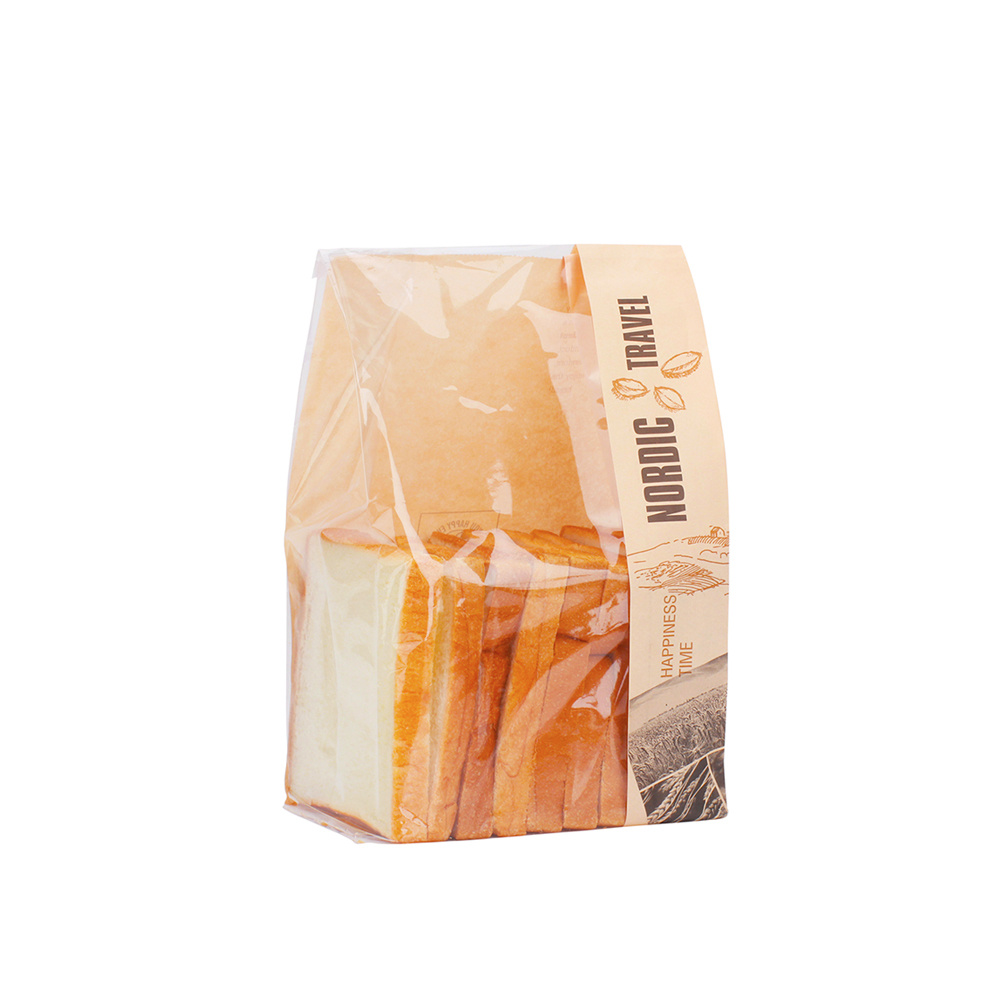 Wholesale French Paper Bag for Baguette Bread with Window pictures & photos